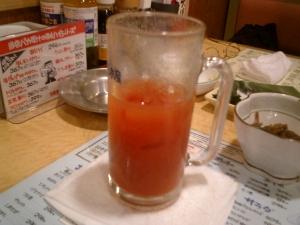 トマトだと、なんとなく健康な気分になるのは、なぜ?(笑)